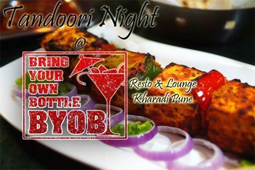 Tandoori Night  BYOB Enjoy Veg & Non-Veg tandoor delicaciesr