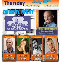 Free Comedy Night for July with Yards &amp Verbal Shenanigans
