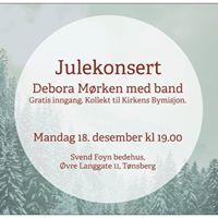 Julekonsert - Debora Mrken med band
