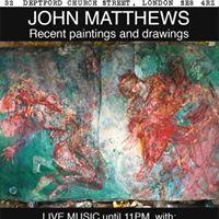 Undercurrents Gallerys opening presents John Matthews