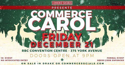 Commerce Socials Presents Commerce Carol 2018