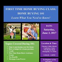 First Time Home Buying Class