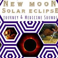 New Moon  Total Solar Eclipse Journey and Medicine Sounds