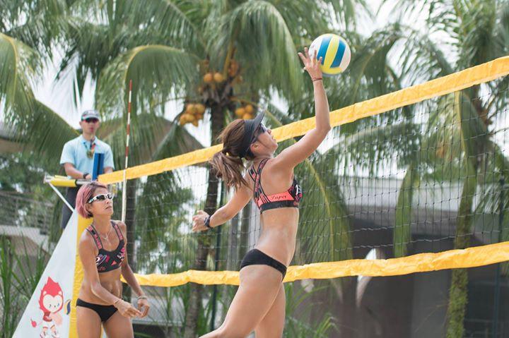 FIVB Beach Volleyball World Tour Singapore 21-24 June 2018
