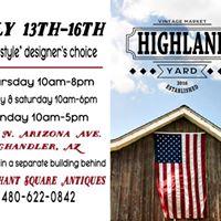 Highland Yard Vintage - Home Design Market Freestyle Event