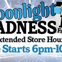 Moonlight Madness - All Locations