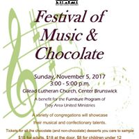 Festival of Music and Chocolate for TAUM Furniture Program