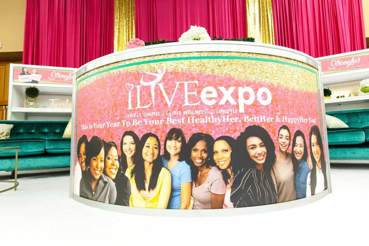 2019 Annual ILIVE Womens and Girls Wellness & LifeStyle Expo