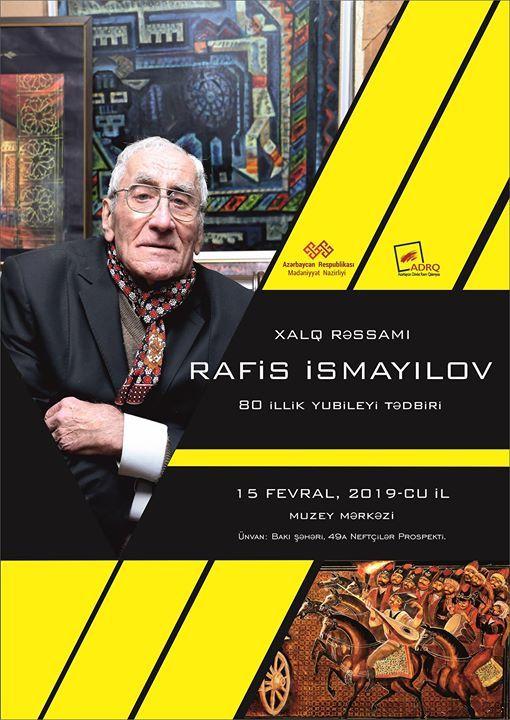 Rafis smaylovun 80 illik yubiley tdbiri