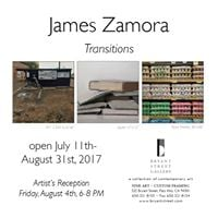 Artist Opening with James Zamora