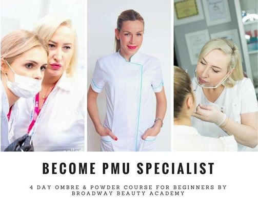 Become a PMU Specialist- Ombre & Powder Course for Beginner