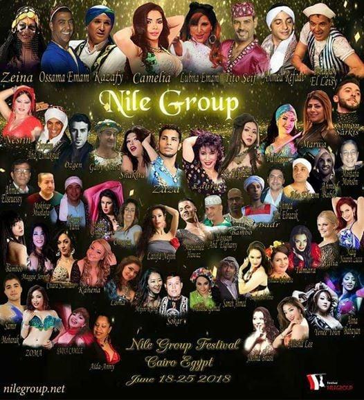 Nile Group Oriental Dance Festival June 2018