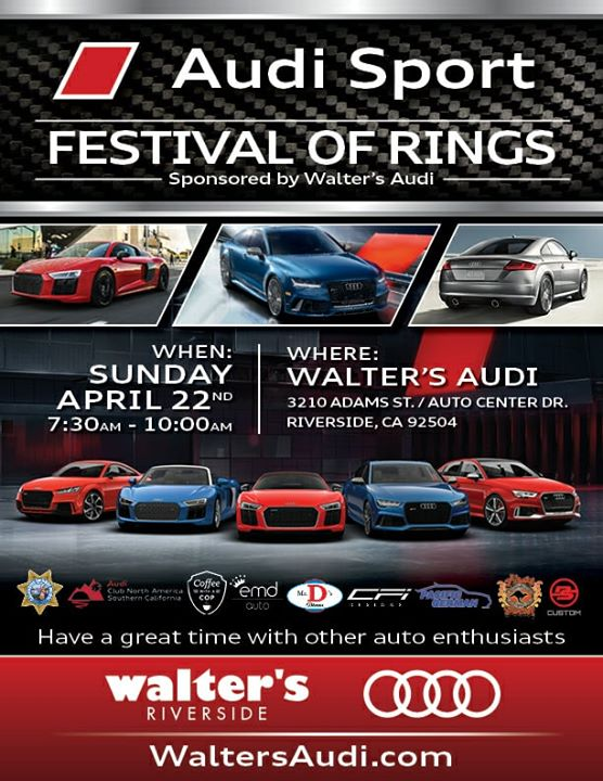 Audi Sport Festival Of Rings At Walters Audi Riverside - Walter audi