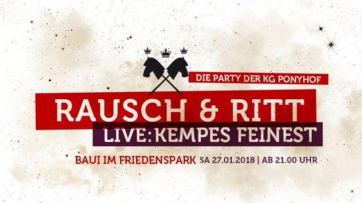 Rausch & Ritt - Die Ponyhofparty