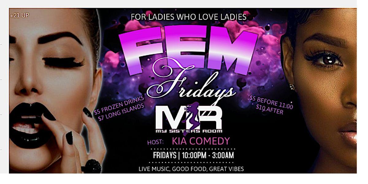 Fem Fridays at MSR Lesbian Bar