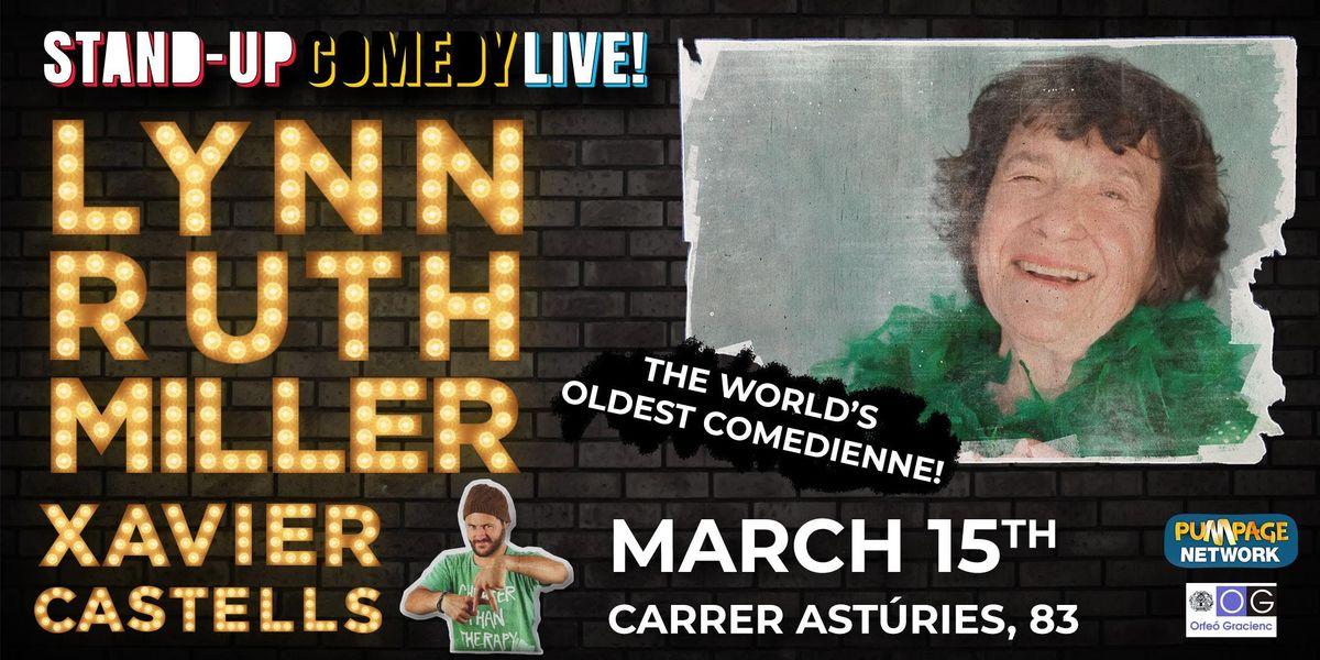 Lynn Ruth Miller  Xavier Castells - Stand-Up Comedy Live