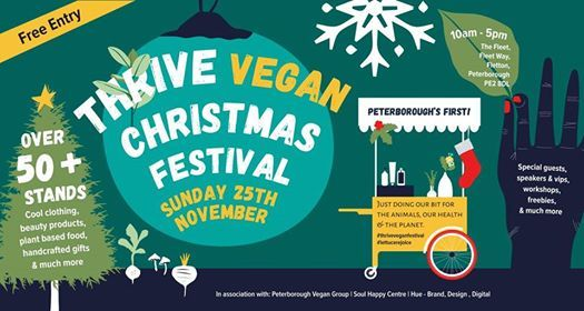 Peterboroughs First Vegan Xmas Fair