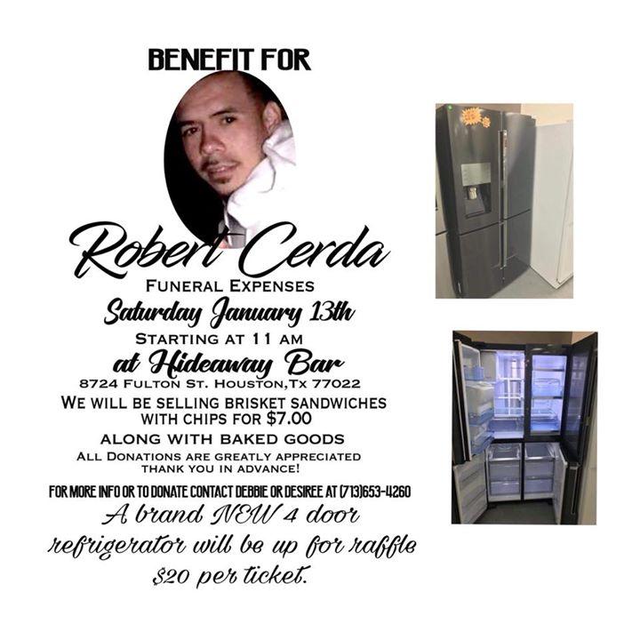Benefit for Robert Cerda