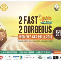 Queen on Wheels - 2015 - A Fundraising event organized by Rotary Club of Siliguri Green