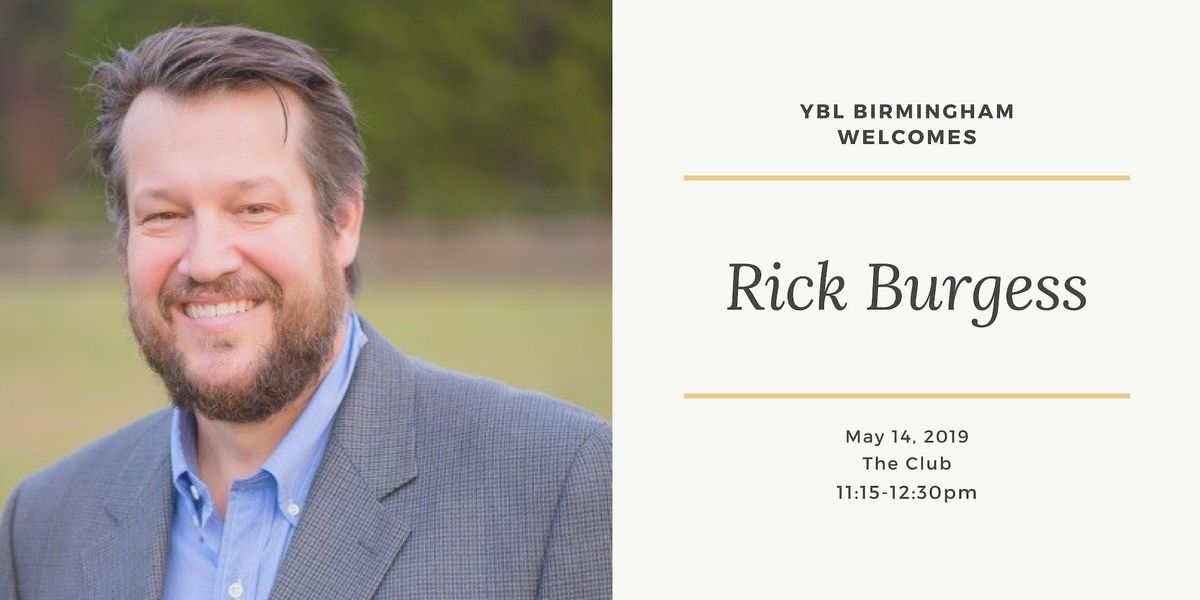 YBL Welcomes Rick Burgess