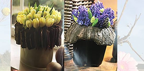 Bloemschikken met het thema Voorjaar