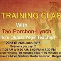 Yoga Classes with Tao Porchon Lynch- Worlds Oldest Yoga Teacher