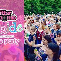 Pride Pre Party  Glitterbomb Canterbury