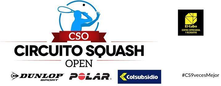 Circuito Squash Open  CER El Cubo De Colsubsidio Febrero 2019