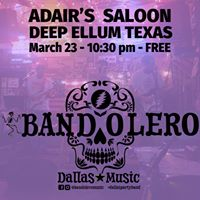 Bandolero plays Adairs Saloon