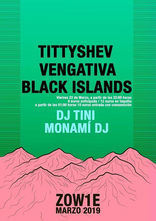 Tittyshev Vengativa Black Islands dj Tini Monam dj