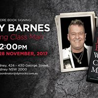 Meet Jimmy Barnes at Dymocks Sydney