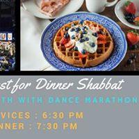 UF Hillel Shabbat (with DM)  Free Breakfast for Dinner
