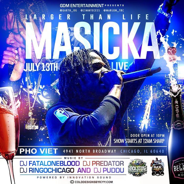 Masicka Chicago Live in Concert