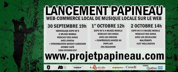 Lancement Papineau