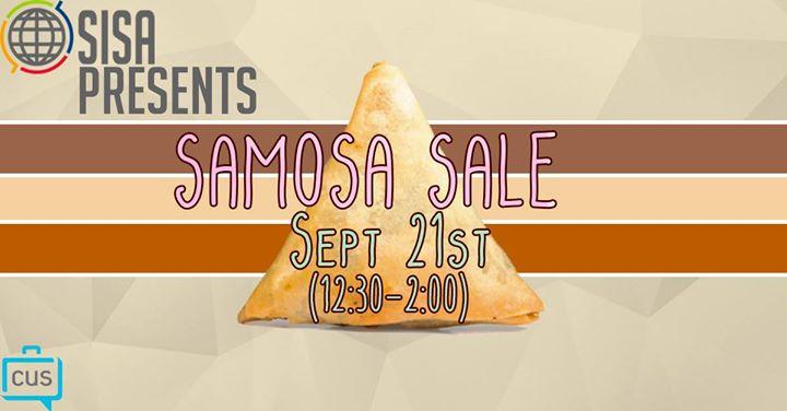 UBC SISA Samosa Sale
