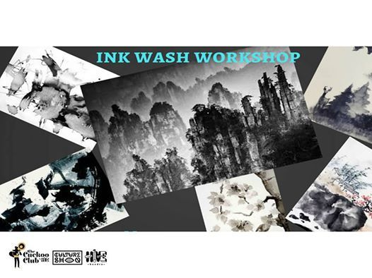 Ink Wash Painting Workshop with Trishna Patnaik