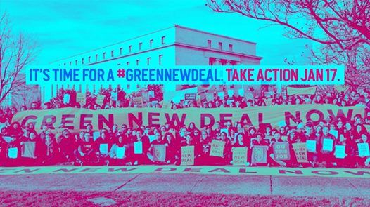 New Year New Congress Time for a GreenNewDeal