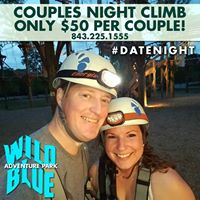 July Couples Night Climb at Wild Blue Ropes Adventure Park