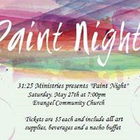 Womens Ministries Paint Night
