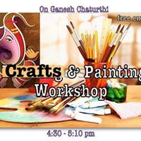 Crafts and Painting Workshop on Ganesh Chaturthi