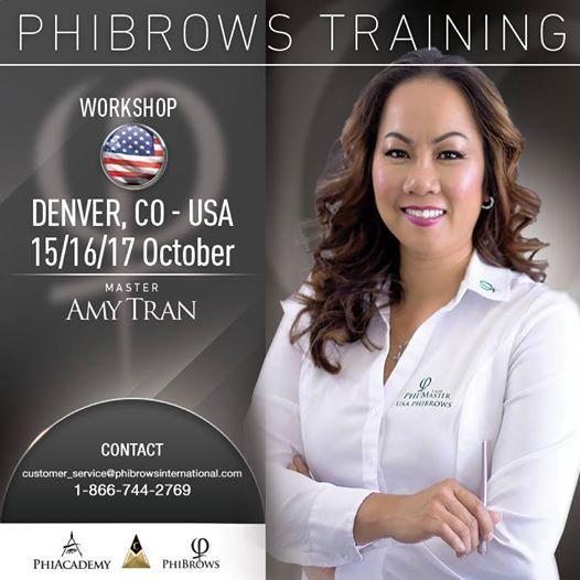 3 day live phibrows microblading training denver co at denver