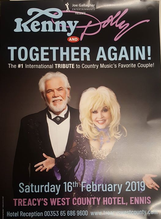 Kenny & Dolly Together Again Tribute Show