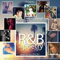 R&ampB and Poetry Night