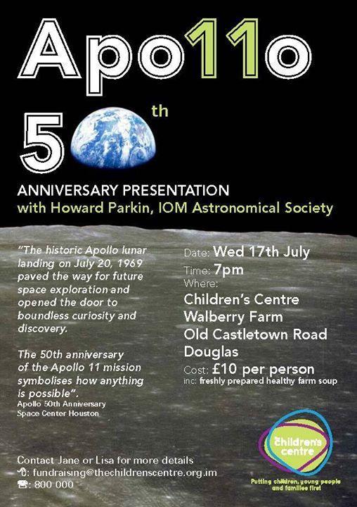 Apollo 50th anniversary presentations at The Children's