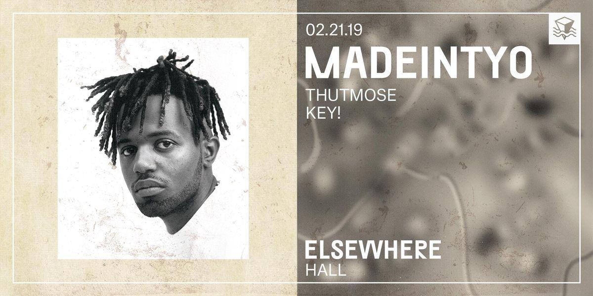 MadeinTYO  Elsewhere (Hall)