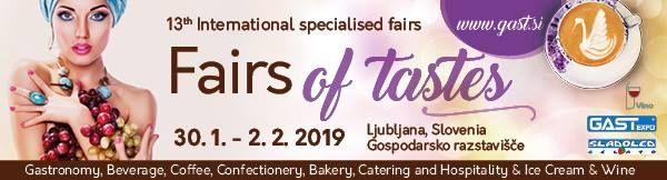 13.international Fairs of Tastes Gastexpo
