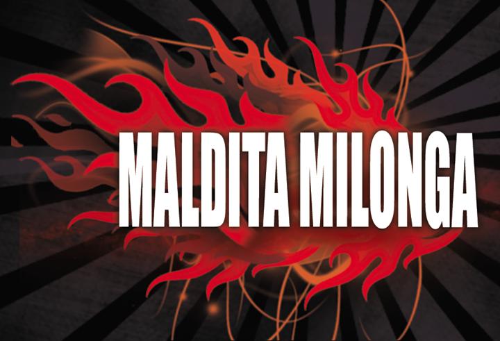MALDITA MILONGA - Clase con Laura Heredia y Sergio Arias  Milonga  O.T. El Afronte. TE ESPERAMOS