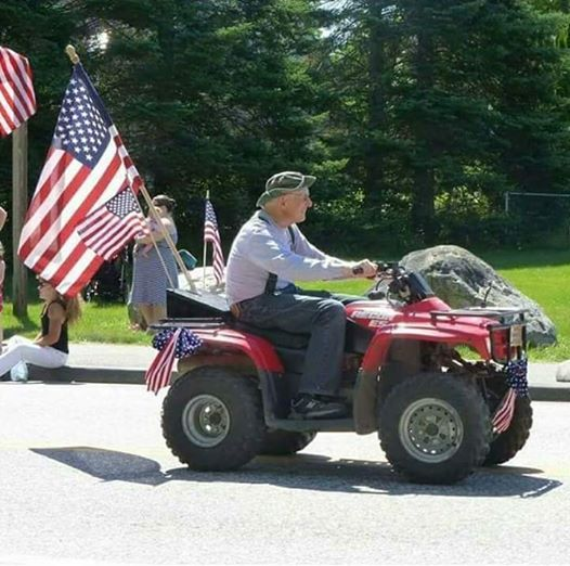 Turner 4th of July Parade ATV Participants at Turner Primary
