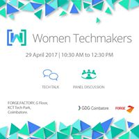 Women Techmakers 17  GDG Coimbatore