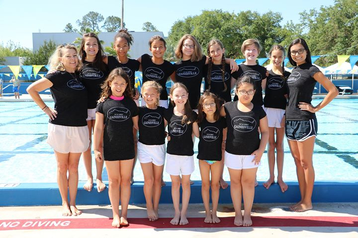 2016 synchronized swimming show at h spurgeon cherry for Pool show in orlando 2016